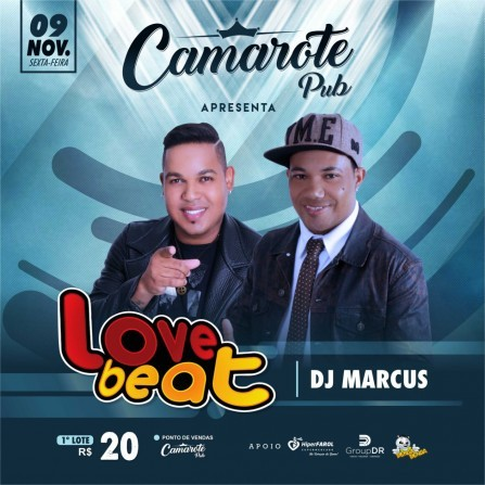 Love Beat no Camarote Pub